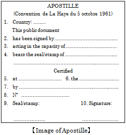 Image of Apostille